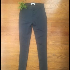 Abercrombie & Fitch Charcoal Gray Leggings Size XS